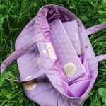 torba lawendowa z etui w srodku BeMistic